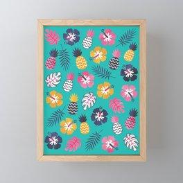 FOREVER SUMMER on MINT Framed Mini Art Print