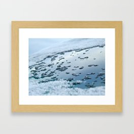 Frozen Ocean Framed Art Print