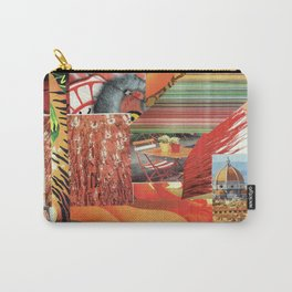 "Collage - ""Orange You Glad'"" Carry-All Pouch"