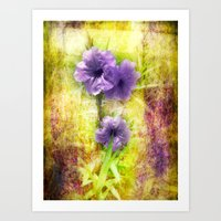 mexican Art Prints featuring Mexican Petunia by Judith Lee Folde Photography & Art