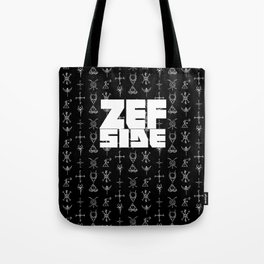 Zef Side Design Tote Bag