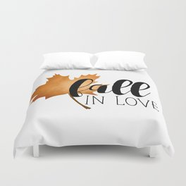Fall In Love Duvet Cover