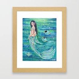 Andrinna Mermaid Framed Art Print