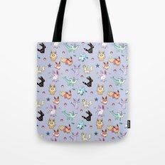 Eeveeloution Pattern Tote Bag