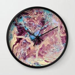 Cosmo Nightmare Glitch Wall Clock