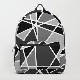 Shattered Charcoal Backpack