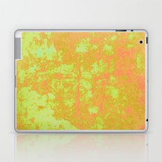 Glowing yellow and orange summer texture Laptop & iPad Skin