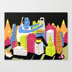 City of Nachos Canvas Print
