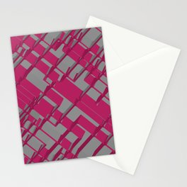 3D Futuristic BG Stationery Cards