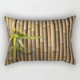 Bamboo Wall Rectangular Pillow