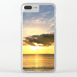 Sunrise Over Vieques Clear iPhone Case