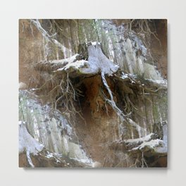 Winter in the forest.... Metal Print