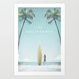 California Kunstdrucke