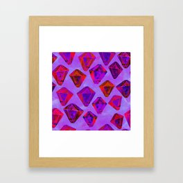 Fairy gems Framed Art Print