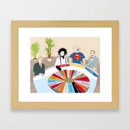 Wheel of Fortune Framed Art Print
