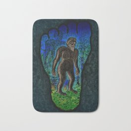 Big Foot Woodsman Bath Mat