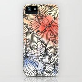 flower pattern crush iPhone Case