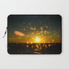 Splash sunset Laptop Sleeve