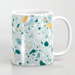 Mint Terrazzo #pattern #abstract Coffee Mug