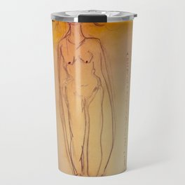 Lucille, The First Human Angel Travel Mug