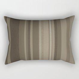Stripes in Brown Rectangular Pillow