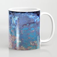 rustic Mugs featuring Waterfall  by Lena Weiss