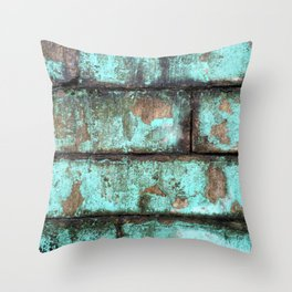 Urban Ruin Throw Pillow