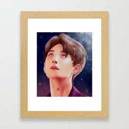 JOSHUA: The Stars in Your Eyes Framed Art Print