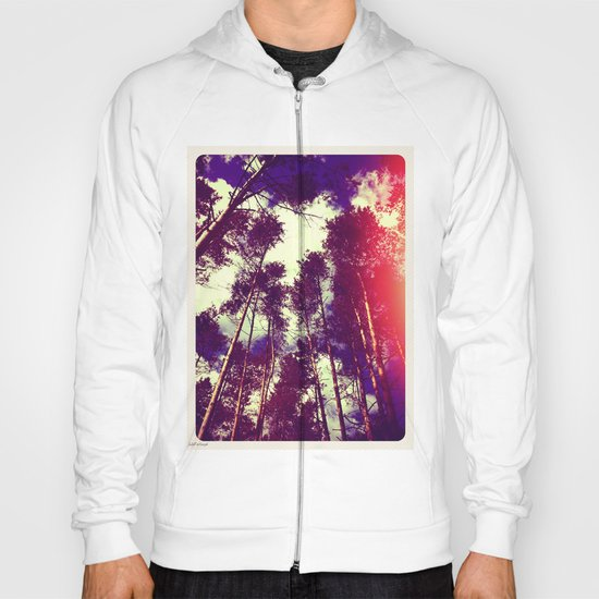 There is a pleasure in the pathless woods... Hoody