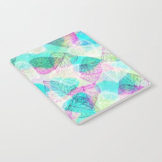 Translucent Leaves Notebook