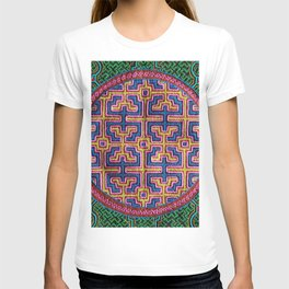Song for Creativity - Traditional Shipibo Art - Indigenous Ayahuasca Patterns T-shirt
