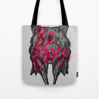 rare Tote Bags featuring BE RARE TRASH VERSION by Vasco Vicente