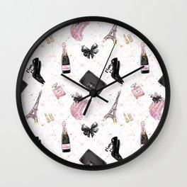 Fashion Christmas Pattern Wall Clock