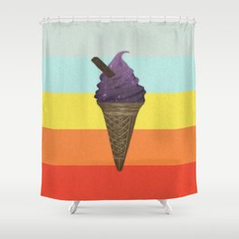 Icecream Shower Curtain