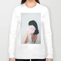 pastel Long Sleeve T-shirts featuring Pastel by Jovana Rikalo