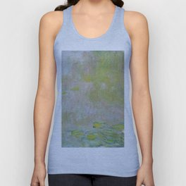 Water Lily Pond by Claude Monet Unisex Tank Top