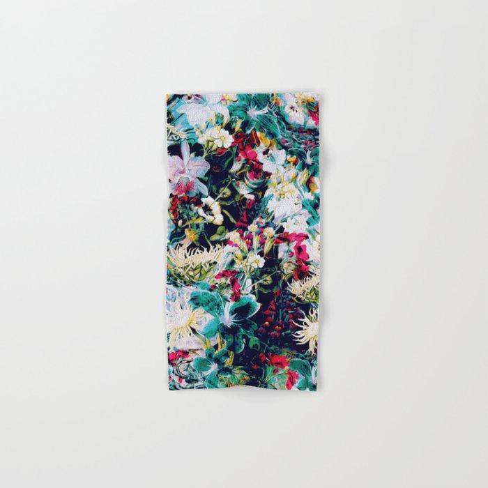RPE ABSTRACT FLORAL -IV Hand & Bath Towel