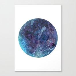 Umbriel Blue Canvas Print