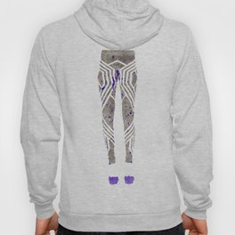Silver & Purple Hoody