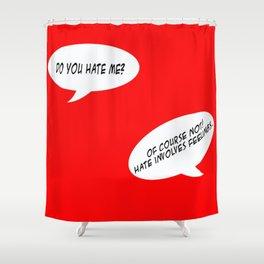 Haha Moment Shower Curtain