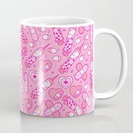 Kawaii Menhera on Pink Coffee Mug