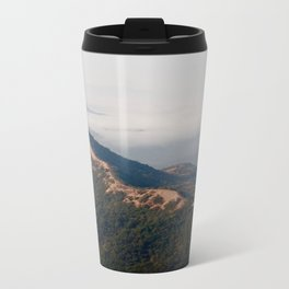 misty mountains Metal Travel Mug