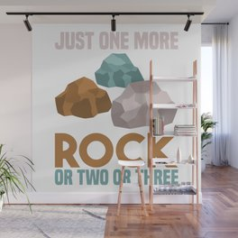Rocks - Just One More Rocks - Wait I See A Rock Wall Mural
