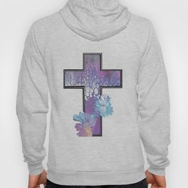 Fluid Flower Cross Hoody