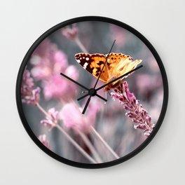 Butterfly 30 Wall Clock