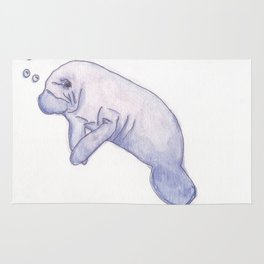 Stand by Your Manatee Rug