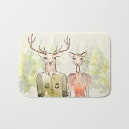 Together in Happy Land Bath Mat