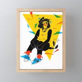 Mrs. Tori Framed Mini Art Print