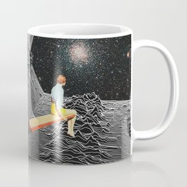 unknown pleasures to Infinity Coffee Mug