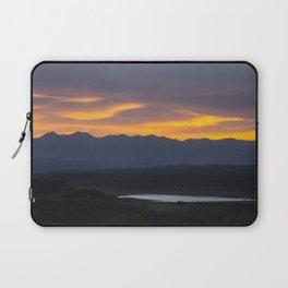 Colorado Vista Sunset Panorama Laptop Sleeve